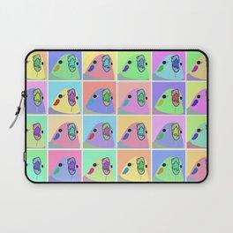 pop art cockatiel Laptop Sleeve