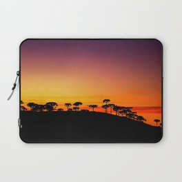 Araucaria Sunset Laptop Sleeve