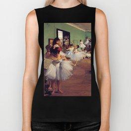 Degas The Dance Class Biker Tank