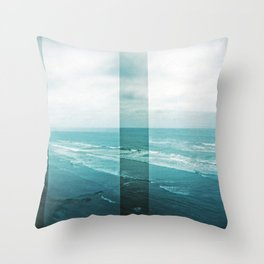 Summer on the central coast Throw Pillow