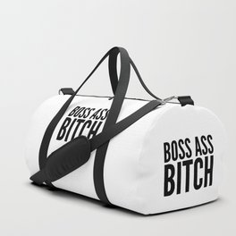 BOSS ASS BITCH Duffle Bag