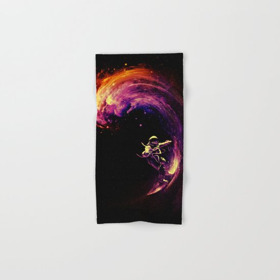 Space Surfing Hand & Bath Towel