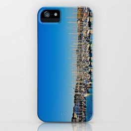 The Boats of Howth Harbor iPhone Case