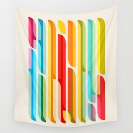 Test Tube Tune Wall Tapestry