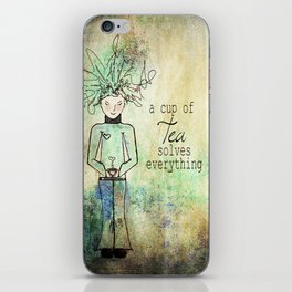 TEA iPhone Skin