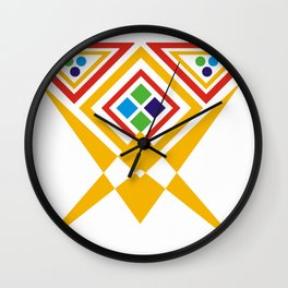 interlock effect Wall Clock