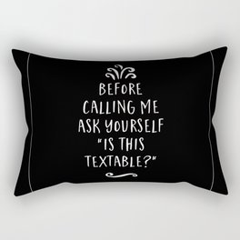 Is This Textable Rectangular Pillow