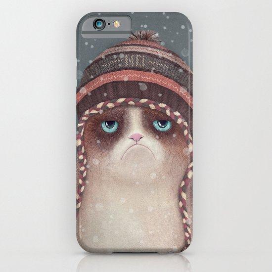 Christmas Cat iPhone & iPod Case
