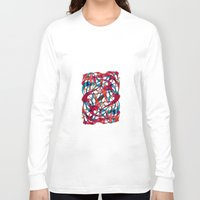 dance Long Sleeve T-shirts featuring - dance - by Magdalla Del Fresto