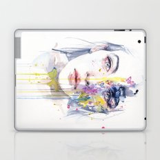 miss bow tie Laptop & iPad Skin