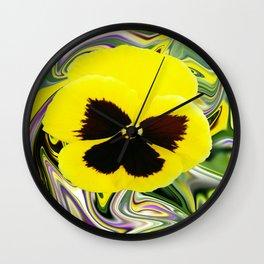 Solo Flower Wall Clock