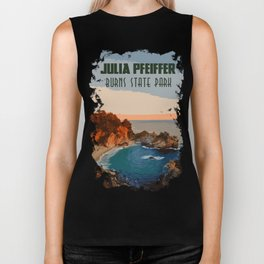 Julia Pfeiffer state park, California Biker Tank