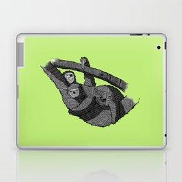 Newspaper Sloths Laptop & iPad Skin