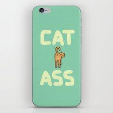 Cat Ass iPhone & iPod Skin
