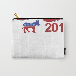 Hillary Clinton For President 2016 Carry-All Pouch