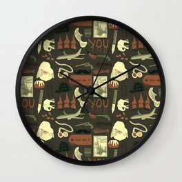 The Abominable Bride Wall Clock