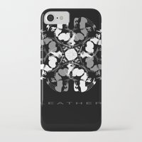 leather iPhone & iPod Cases featuring LEATHER by muckypets