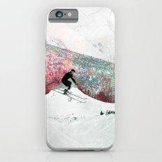 Vintage Skiing iPhone 6 Slim Case