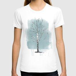 Lone birch T-shirt