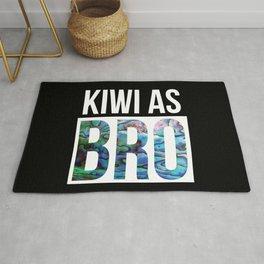 KIWI AS BRO NEW ZEALAND Rug