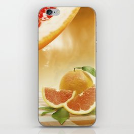 "Dancing Food ""Grapefruit"" iPhone Skin"