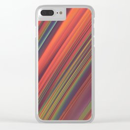 Swept Away Clear iPhone Case