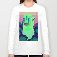mona lisa Long Sleeve T-shirts featuring Mona Lisa by Beatriz