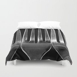 Fork You Duvet Cover
