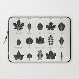 European Tree Leaves Laptop Sleeve