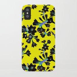 Watsonia Print iPhone Case
