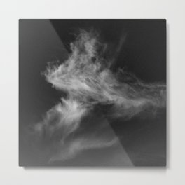 Here This Moment, Gone The Next Metal Print