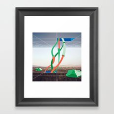 Holodeck Framed Art Print