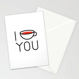 I Coffee You - Love, Coffeeholic Stationery Cards