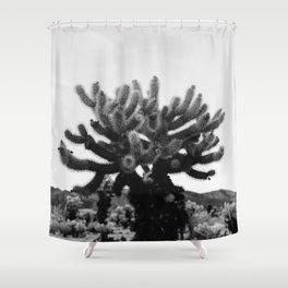 Cholla Cactus Garden XI Shower Curtain