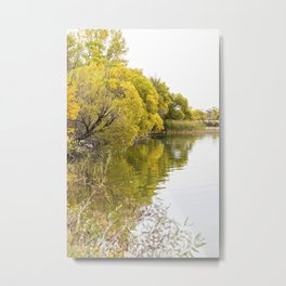 Autumn at the Lake 2 Metal Print