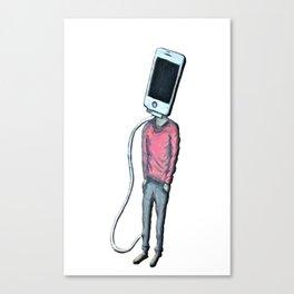 Head Phone Canvas Print