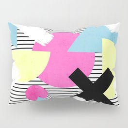 80's Theme Pillow Sham