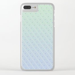 Stripes and Polka-dots Clear iPhone Case