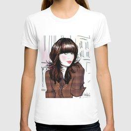 Zooey Deschanel T-shirt