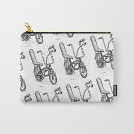 Cartoon Retro Mod Stingray Eyeball Shifter Muscle Bike Bicycle Carry-All Pouch