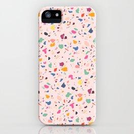 Happy Terrazo iPhone Case