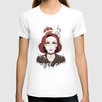 dana scully T-shirts featuring Punk Scully by Sutexii