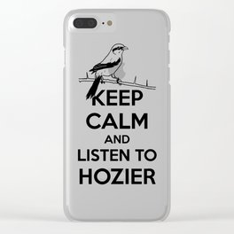 Listen to the bog man 2.0 Clear iPhone Case