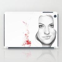 dexter iPad Cases featuring DEXTER by Olechka