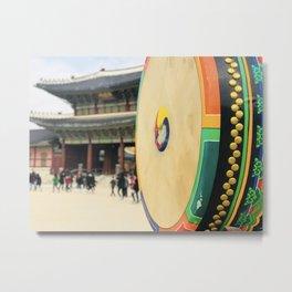 The royal drum Metal Print