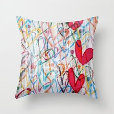 Oodles of Love Throw Pillow