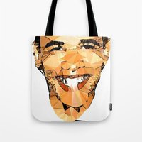 obama Tote Bags featuring ICONS: Obama by LeeandPeoples