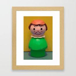 Fisher Price Little People, Girl 2 Framed Art Print