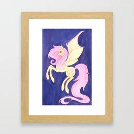 Flutterbat Framed Art Print