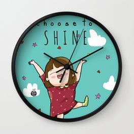 SHINE. Wall Clock
